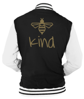 BE KIND BEE VARSITY - INSPIRED BY KINDNESS
